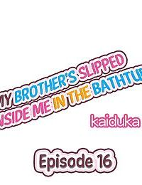 My Brothers Slipped Inside Me in The Bathtub - part 7