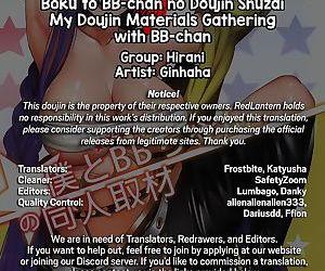 Boku to BB-chan no Doujin Shuzai - My Doujin Materials Gathering with BB-chan