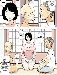 Ojii-chan to Gifu to Giri no Musuko to- Kyonyuu Yome. 5