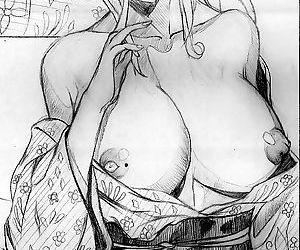 Doujinshi of Mira san