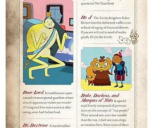 The adventure time encyclopaedia inhabitants- lore- spells- and ancient crypt warnings of the land o - part 4