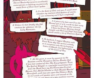 The adventure time encyclopaedia inhabitants- lore- spells- and ancient crypt warnings of the land o - part 8
