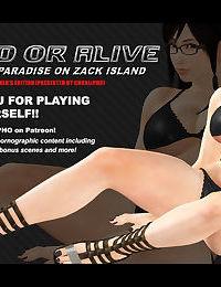 DOA / KOKORO - PARADISE ON ZACK ISLAND - part 2