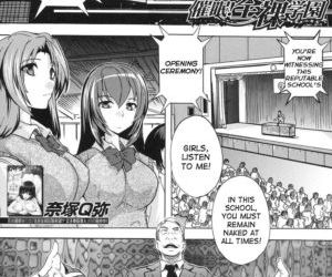 Saimin! Zenra Gakuen|Hypnotism! Nude Girls School Ch. 1-2