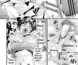 Netsu ni okasareta Karen-chan to toilet de.... - Taking fevery Karen-chan to the toilet…