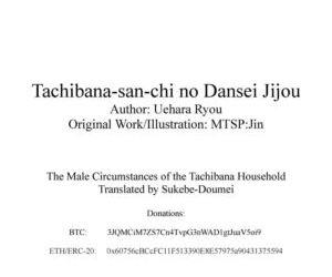 Tachibana-san-chi no Dansei Jijou
