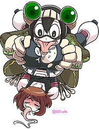 My Hero Academia - Boku no Hero Academia: Tsuyu Asui - part 11