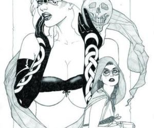 My Gallery Tarot Witch of the Black Rose - part 2