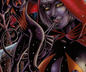 My Gallery Tarot Witch of the Black Rose - part 6