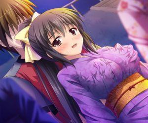 Amaamax 2!! ~Hatsuratsu Ecchi na Inaka Shoujo wa Juujun Kyonyuu na Osanazuma!?~ - part 12