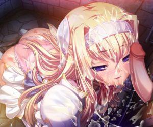 Kuroinu Chapter 2 ~The Blowjob Princess Knight- Lustful Young Princess- and Anal Eastern Priestess~ - part 8