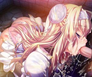 Kuroinu Chapter 2 ~The Blowjob Princess Knight- Lustful Young Princess- and Anal Eastern Priestess~ - part 9