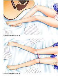 Angel Beats! -1st beat- Perfect Visual Book - part 6