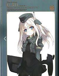 <白い狐の住む社> ドイツ艦の下着 / 白露型の下着