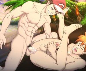 Pokemon S&M - Red x Blue #3