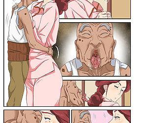 Kyojiri Tsuma Keiko to Zetsurin! Sukebe Jii. - part 6