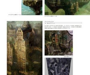 GRAVITY DAZE ARTBOOK - part 4
