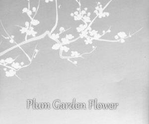 Plum Garden Flower