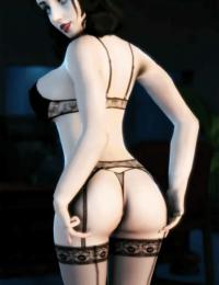 Curvy Elizabeth 3D + Tumblr/Patreon/Commission Links - part 2