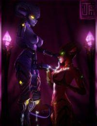Xelthia and Ezria