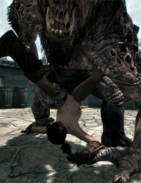 TESV: Troll Monster Sex - part 2