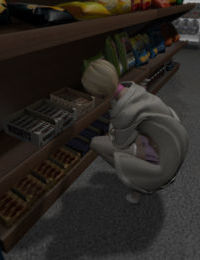 Femboy Trissy Interracial - Snack Run