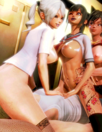 Honey Select Studio - High quality animated gifs - Part 2