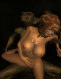 TESIV: Goblin Monster Sex - part 2