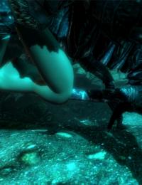 TESV: Chaurus Monster Sex - part 2