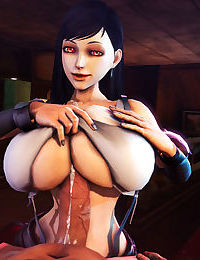 Soria - Big Titty 3D Elf Girl Tittyfucking + Sex Adventures with Tifa Lockhart 3D - part 14