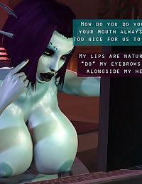 Soria - Big Titty 3D Elf Girl Tittyfucking + Sex Adventures with Tifa Lockhart 3D - part 8