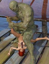 3DMidnight Orcs Journey Part 1/The Raft - part 2