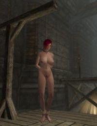 Skyrim bondage furniture collection - part 6