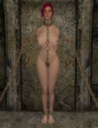 Skyrim bondage furniture collection - part 7