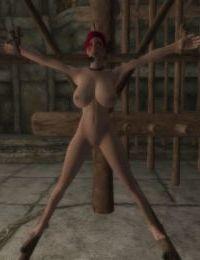Skyrim bondage furniture collection - part 9