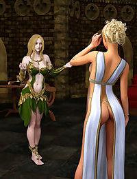 Hibbli3d - Priestess Rinil - Saints Or Sinners 1