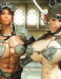 3D Skyrim Muscle Futa by FutanariPrisoner - part 4