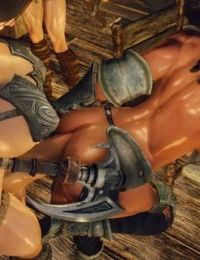 3D Skyrim Muscle Futa by FutanariPrisoner