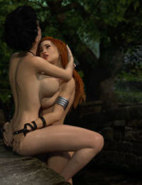 A Barbarians Reward - part 4