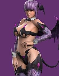 Artist3D - DragonLord720 - DOA Girls