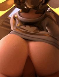 Overwatch animations arhoangel - part 2