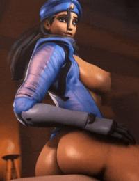 Overwatch animations arhoangel - part 5