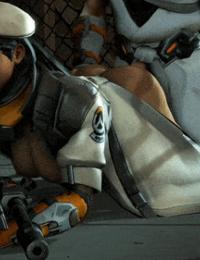 Overwatch animations arhoangel - part 6
