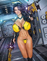 Looks Can Kill - Space XXX - Hard Target - part 3