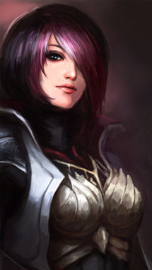 Picture- Fiora outsider League of Legends; Uber Cute French Chick