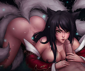 Ahri Commission regard useful to Rj63 nsfw reduction Even if you have a fondness my work, please consider supporting me not later than my patreon Links