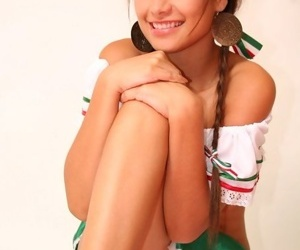 The hottest youthful lady in Mexico - petite infant seductress True Tere