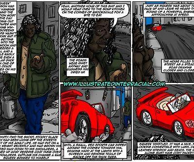 Illustratedinterracial- Ghetto Teen