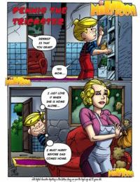 Milftoon – Dennis the Trickster