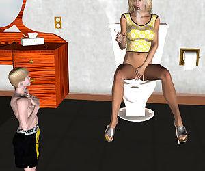 Fractux- Joy In The Bathroom
